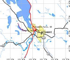 klamath falls oregon or 97601 profile population maps