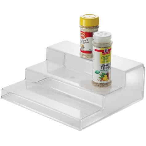 Kitchen Shelf Organisers Uk 3 Tier Cabinet Organizer Shelf In Cabinet Shelves