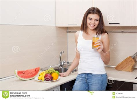 The Juice Kitchen by Happy In A Kitchen Juice Stock Photo