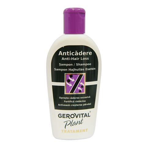 7 Must Try Products From Gerovital Plant by Gerovital Plant Son Impotriva Caderii Parului 220ml