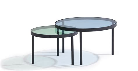 Nesting Coffee Tables Chroma Nesting Coffee Table Made