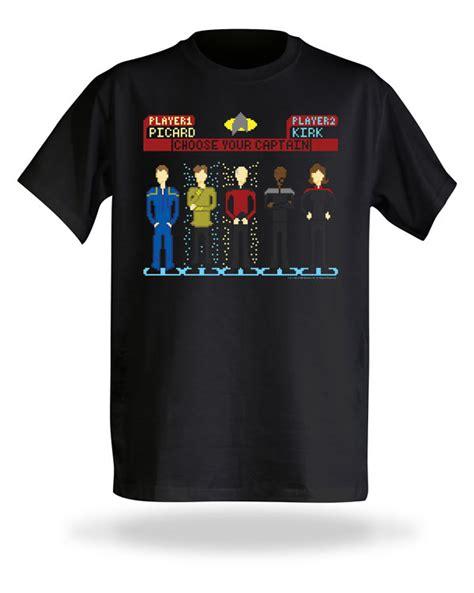 Kaos Tshirt Captain Noble Cloth choose your captain trek shirt pic global news