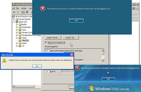 reset windows password locked out investigating repeatedly locked out users backslasher
