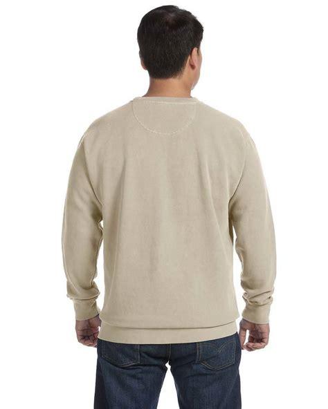 comfort colors crewneck sweatshirt comfort colors 1566 crewneck sweatshirt shirtspace com