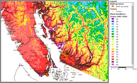 gardening zones bc physiographic maps of canada skyscraperpage forum