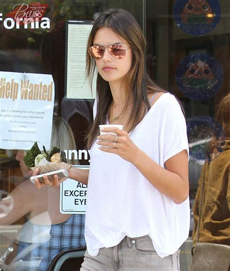 Alessandra Ambrosio Does Some Cleaning by Alessandra Ambrosio Grabs Some Tea In Los Angeles Ca