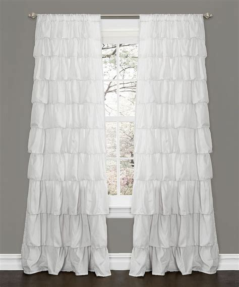 ruffle bedroom curtains 102 best images about cortinas on pinterest valances for