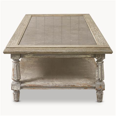 Rustic Grey Coffee Table Rustic Grey Coffee Table With Top Furniture La Maison Chic Luxury Interiors