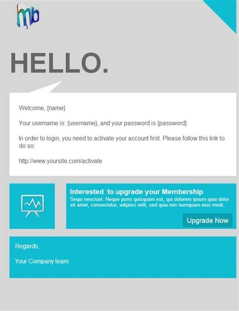 Email Template For Marketing Caign hey yo http stlia html email template