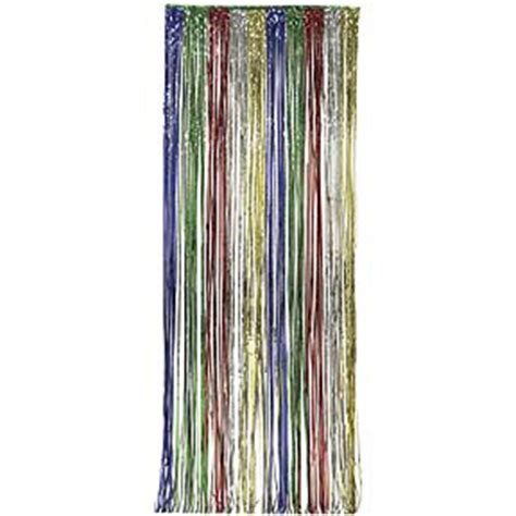 metallic party curtains metallic curtains party supplies metallic door curtain