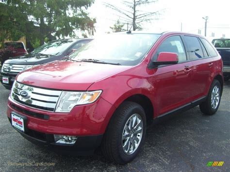 ford edge limited  red candy metallic  jax sports cars cars  sale  florida