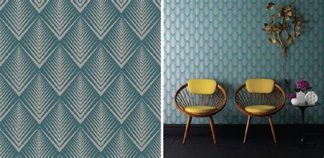 Blue And Silver Bedroom modern wallpaper patterns