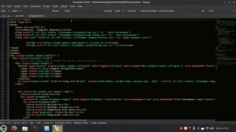tutorial geany linux geany dark theme and colorschemes tutorial xubuntu