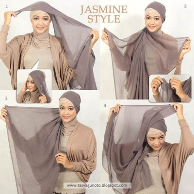 tutorial berhijab april jasmin tips dan tutorial berjilbab