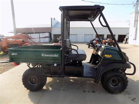 2007 Kawasaki Mule 3010 by 2007 Kawasaki Mule 3010 4x4 For Sale Chanute Ks 605622