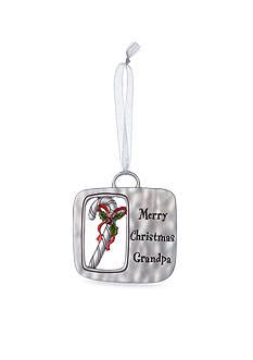 ganz merry christmas grandpa ornament