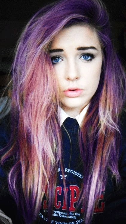 pretty colored hair multi color hair on