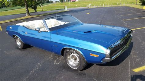 Original Dodge by Original Paint 1971 Dodge Challenger Convertible For Sale