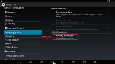 reset android 4 4 2 hướng dẫn reset lại android tv box khi bị lỗi phần mềm