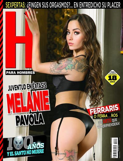 revista h para hombres marzo 2017 melanie pavola revista h diciembre 2017 famosas de revista