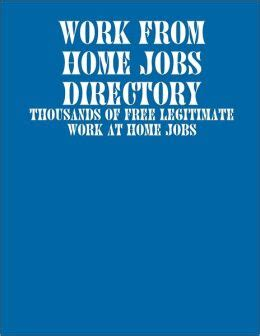 work from home directory thousands of free