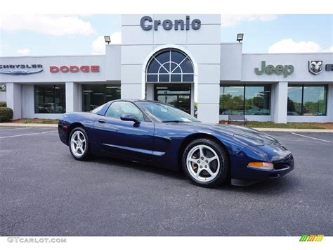 2000 blue corvette 2000 navy blue metallic chevrolet corvette coupe