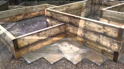 how to build a vegetable garden in raised beds using