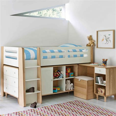 cabin bed with sofa bed underneath cabin beds is a choice for a room