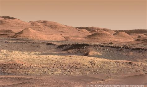 mars images stunning new mars images from curiosity space earthsky