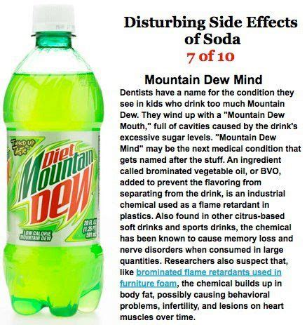 What Side Effects Does Detoxing From Soda by Side Effects Of Soda To