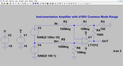 measure voltage across resistor ltspice ltspice tutorial part 1