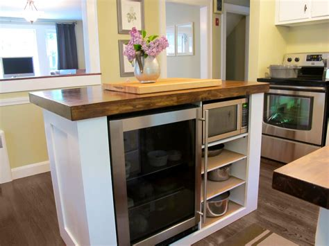 Built In Kitchen Island Steffens Hobick Kitchen Island Diy Kitchen Island With Built In Refridgerator