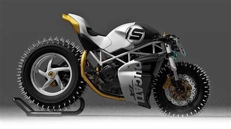 Winterreifen Motorrad by Master Snow And With This Winter Ready Ducati