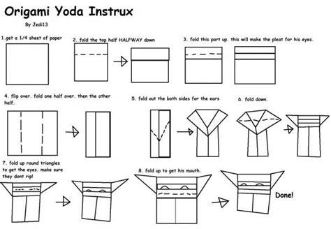 Origami Yoda Folding - origami yoda version 3 instrux origami yoda