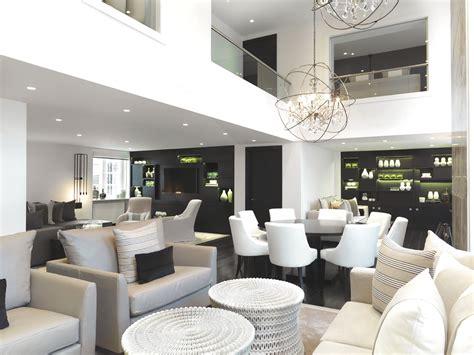 Hoppen Living Room Wallpaper Luxury Covent Garden Apartment By Hoppen Mbe