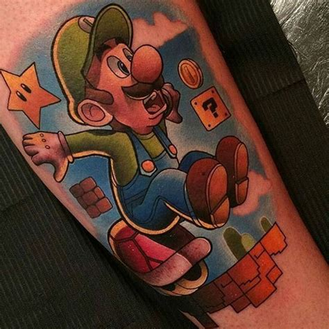 mario tattoo you instagram 64 best images about nintendo tattoos i like on pinterest