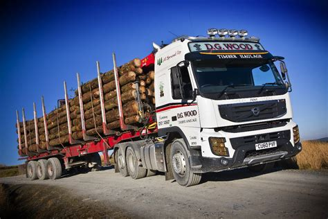 volvo track first volvo fmx tractor unit delivered in the uk