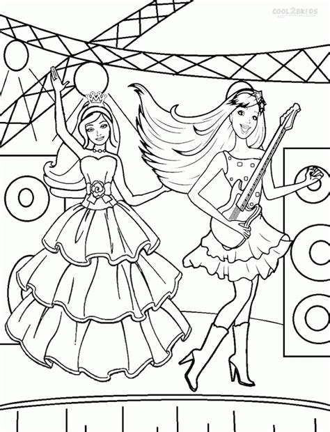 Princess And The Popstar Coloring Pages Barbie Princess And The Popstar Coloring Pages Coloring Home by Princess And The Popstar Coloring Pages