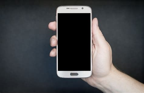 free photo smartphone white silver gray free image