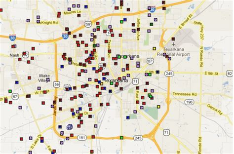 offender registry map offenders in the texarkana area by map