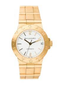 bvlgari solid gold automatic bul20122 the realreal