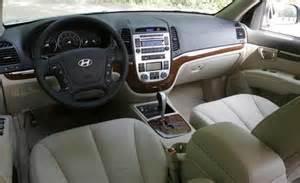 Hyundai Santa Fe 2007 Interior Car And Driver
