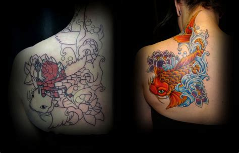 tattoo cover up forum cover up tattoo koi fish tattoo by taigeri on deviantart