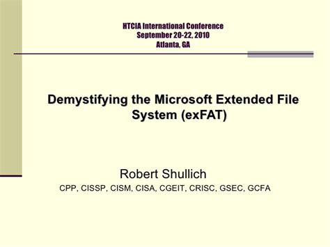 Demystifying The Microsoft Extended Fat File System Exfat | demystifying the microsoft extended fat file system exfat