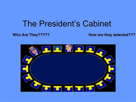 President S Cabinet Ppt The President S Cabinet Powerpoint Presentation Id