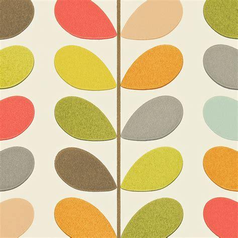Papier Peint Orla Kiely 779 by Orla Kiely Wallpaper Multi Stem
