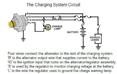 car charging system circuit diagram circuit and