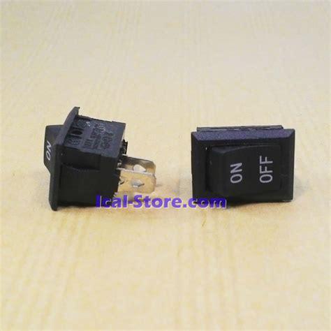 Saklar Swicth On Gepeng 2 Kaki Hitam saklar switch kotak hitam 2 pin on ical store ical