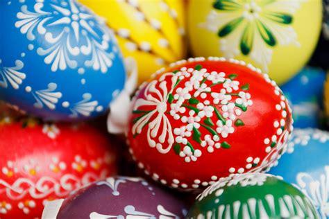 decorating eggs traditional easter egg decorating competition at bandon