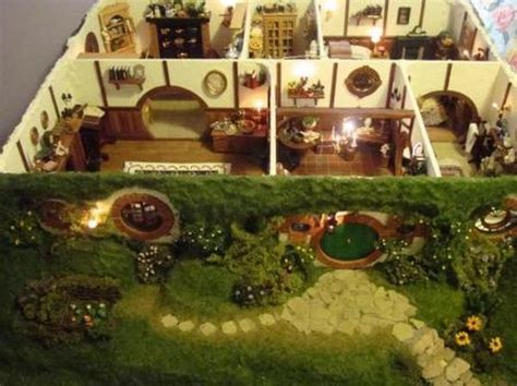 biggest doll house ever coolest mom ever creates hobbit doll house